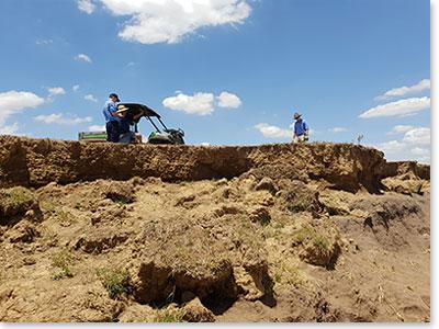 Men doing construction work